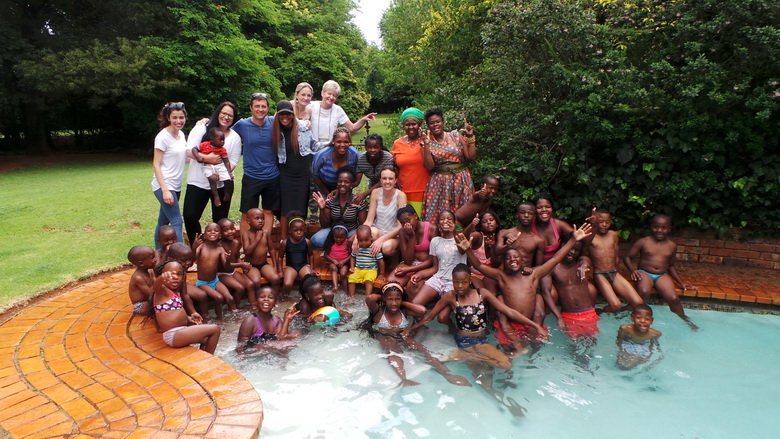 Give them hope Childrens Home Christmas Party at Andante Lodge